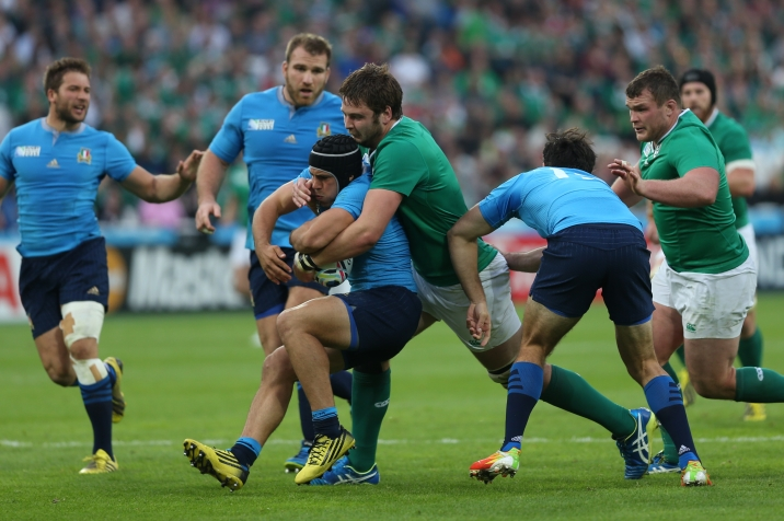 Rugby World Cup 2015 - Ireland v Italy, 4 October 2015