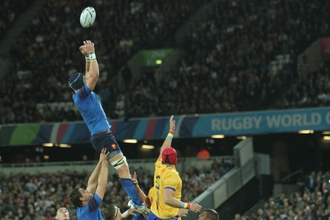 Rugby World Cup 2015 - France v Romania, 23 September 2015