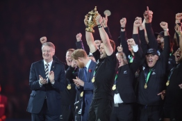 Rugby World Cup Final 2015 - All Blacks v Wallabies, 31 October 2015