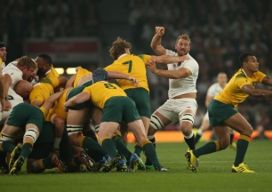 Rugby World Cup 2015 - England v Ausrtalia, 3 October 2015