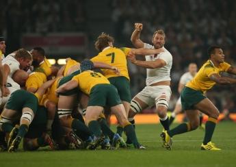 Rugby World Cup 2015 - England v Ausrtalia, 3 October 2015