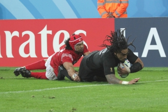 Rugby World Cup 2015 - New Zealand v Tonga, 9 October 2015